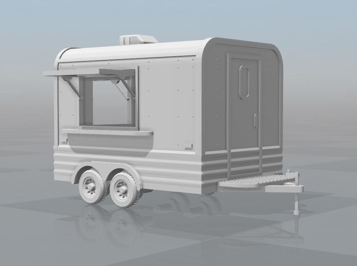 Makai - Concession Trailer (1/43) 3d printed