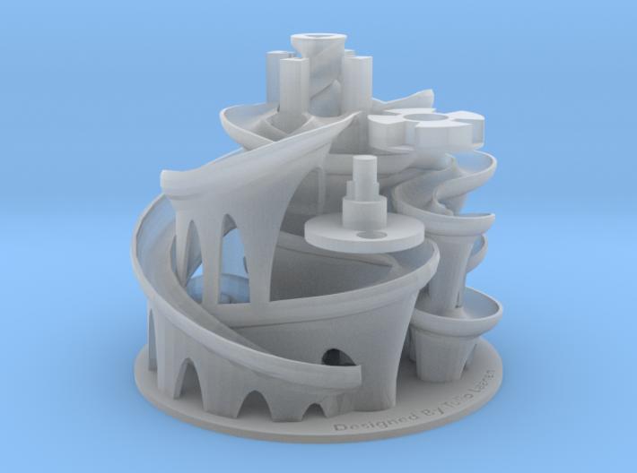 The 3D Printed Marble Machine #3 3d printed