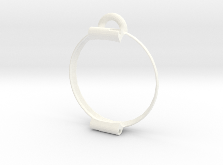 Pocket watch bumper for Pebble Time Round 14mm 3d printed