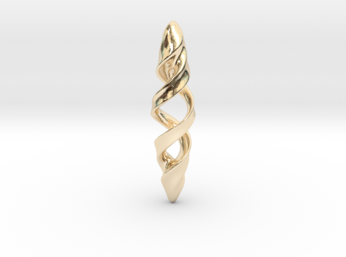 Double Spiral 3d printed