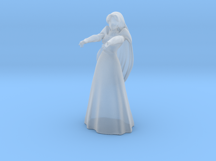 1/72 Milia Jenius Micronized Wedding Dress 3d printed