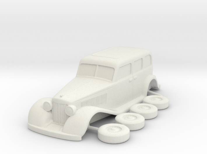 Chrysler 1931 Imperial esc:1/87 3d printed