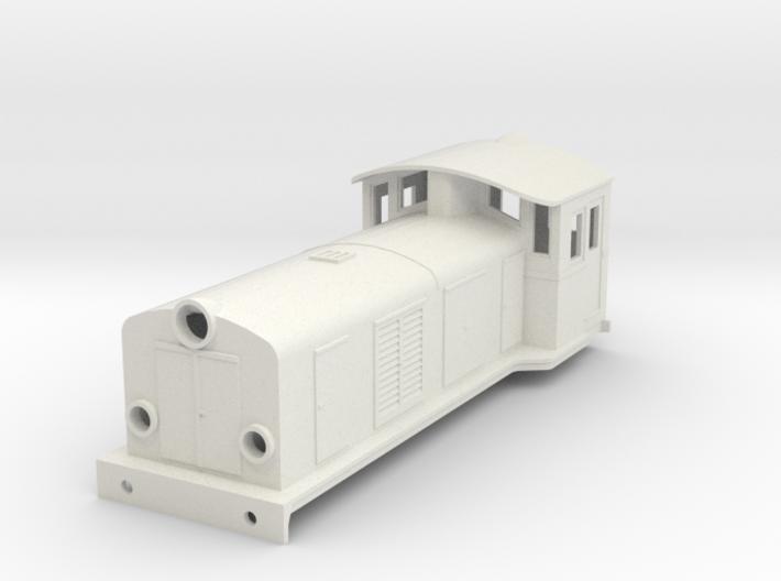 Swedish SJ electric locomotive type Ua - H0-scale 3d printed