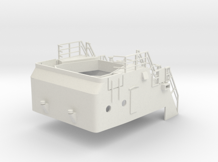 Superstructure H0 1/87 V60 fits Harbor Tug 3d printed