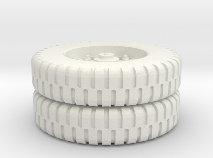 M35 9.0-20 NDT Rear Tire 1/72 3d printed