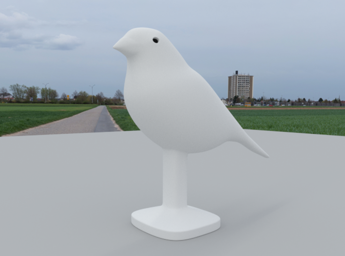 Canary Bird 3d printed Closer View, Canary Bird