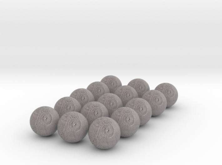 15 Tethys 3d printed