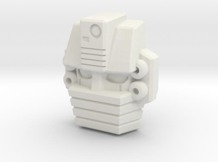 Gutcruncher Face, Upscaled 3d printed