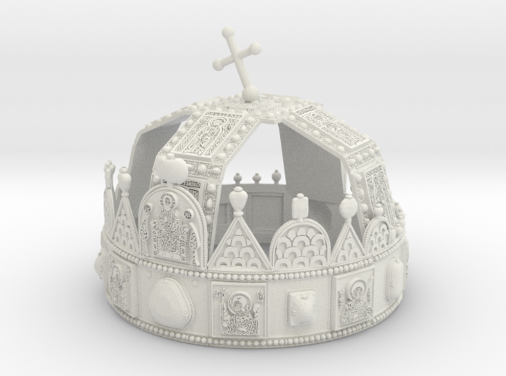 Hungarian Holy Crown - full scale version 3d printed