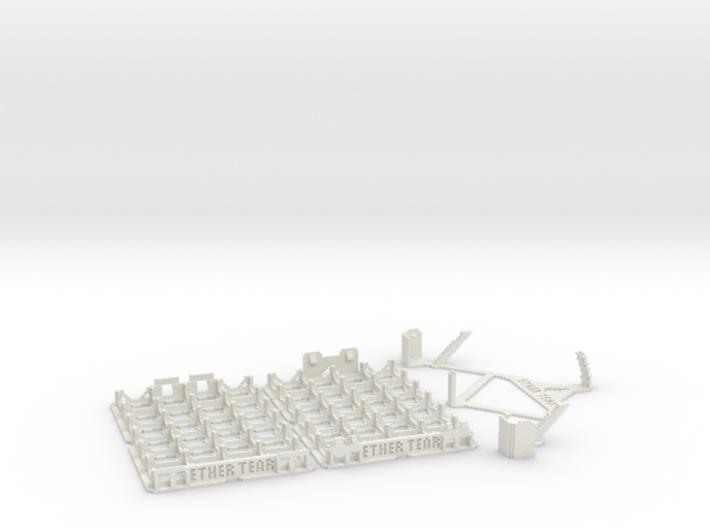 DiceMasters storage tray 4x6 3d printed