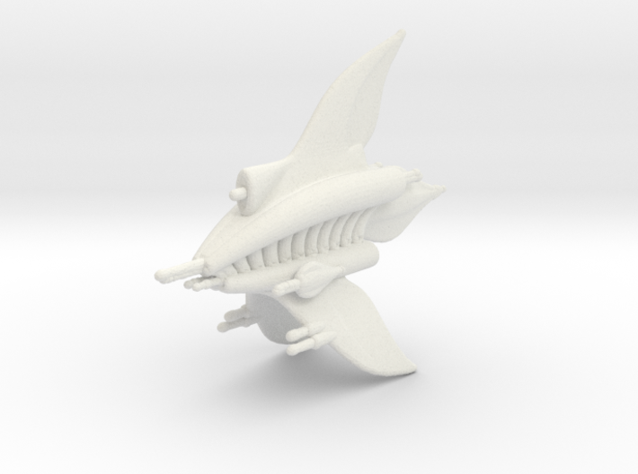 MF Ashinta Heavy Escort Frigate Full Thrust Scale 3d printed