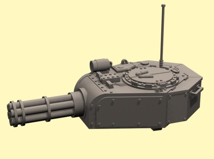 28mm Nemesis tank turret (for old kit) 3d printed