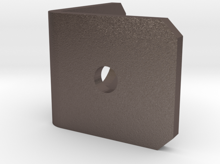 BNC bulkhead bracket 3d printed