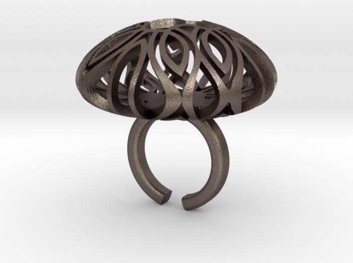 Mandala Brain 3d printed