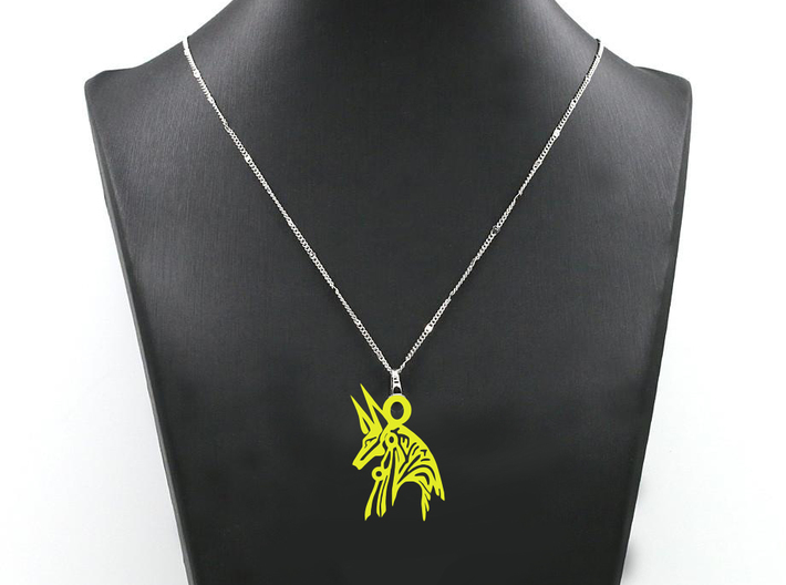 Anubis - Amulet - Abstract 3d printed