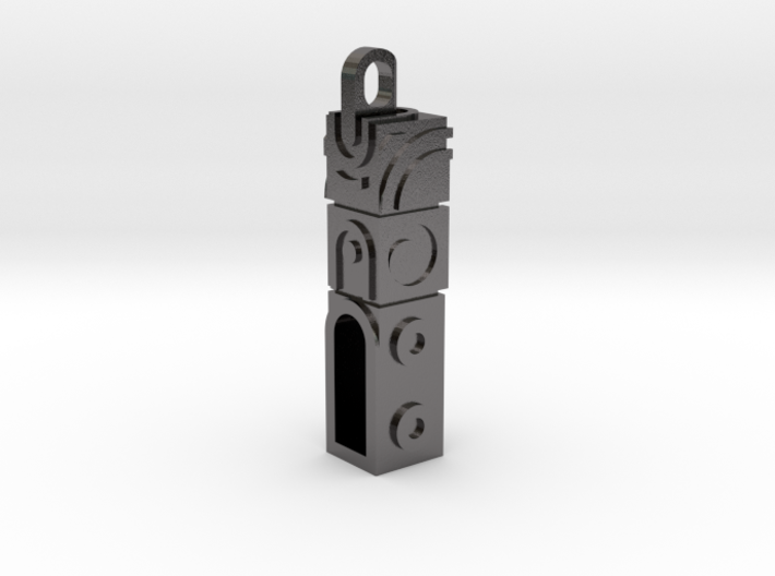 Monument Valley 2 Doortem Keychain 3d printed