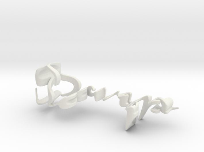 3dWordFlip: Sarp/Buda 3d printed