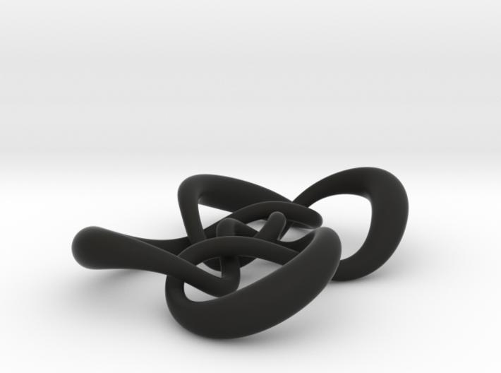 Symmetrical knot (Circle) 3d printed