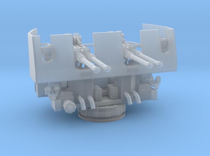 1/96 USN 40mm Quad Bofors 3d printed