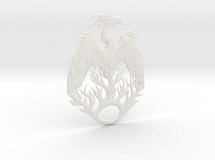 The Mythical Phoenix 3d printed