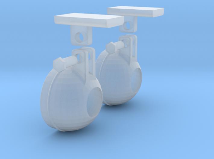 1.4 BELL STEP LIGHTS X2 3d printed