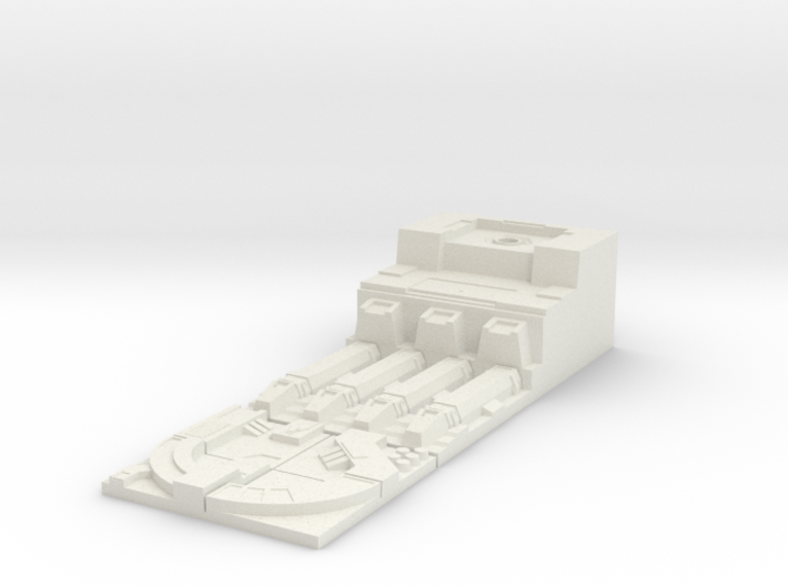 Deathstar Trench Port - Scenerio Objective  3d printed