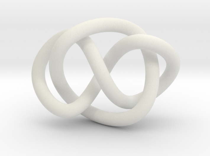 Whitehead link (Circle) 3d printed