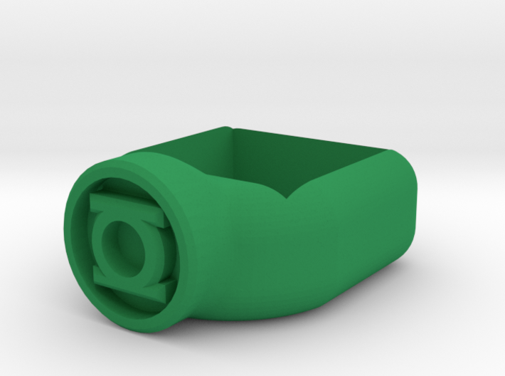 Green Lantern Corps Chalk Holder 3d printed