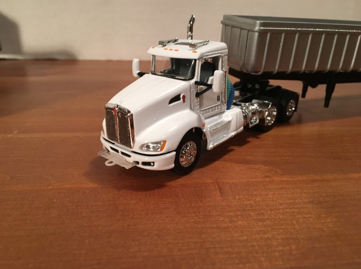 1/64 (6) Safe-T-Pull Truck Hitches  3d printed