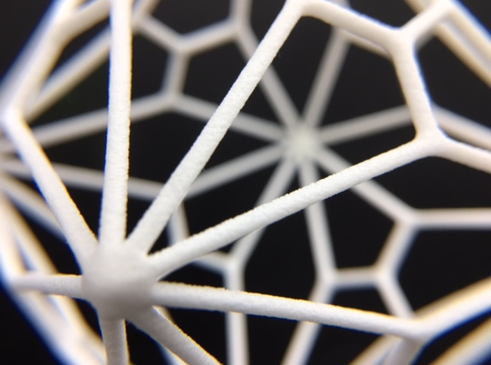 Polyhedron Ornament - Joined Truncated Cube 3d printed