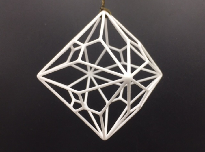 Polyornament - Joined Truncated Cube 3d printed