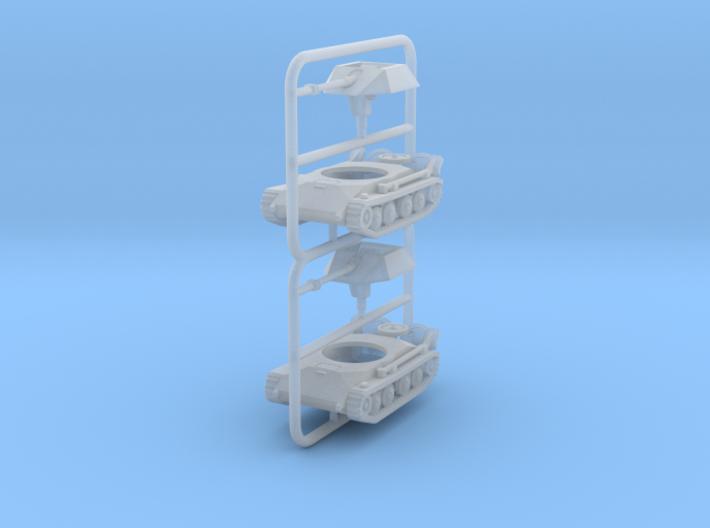1/285 Waffentrager 10,5-cm-leFH (x2) 3d printed