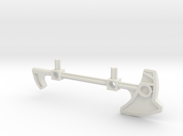 Bionicle staff (Nokama, set form) 3d printed