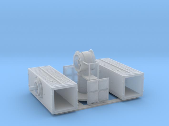 Sea Sparrow Launcher Kit 1/100 3d printed