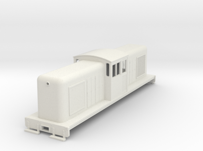 On30 large center cab body for SD7/9 chassis v2 3d printed