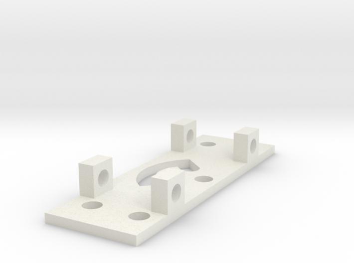 GEAR LEFT BRACKET 3d printed