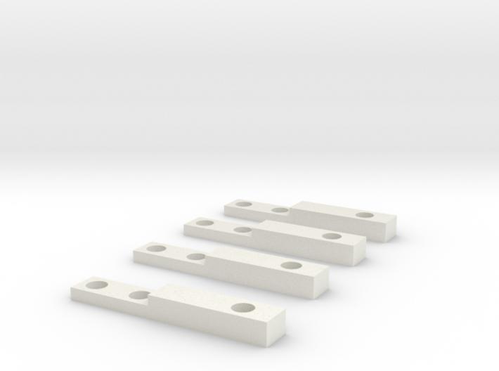 GEAR Switch Brakets 3d printed