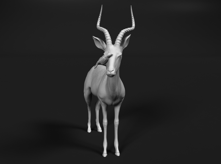 Impala 1:32 Male with Red-Billed Oxpecker 3d printed