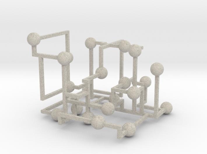 Spheres of the Mind 3d printed