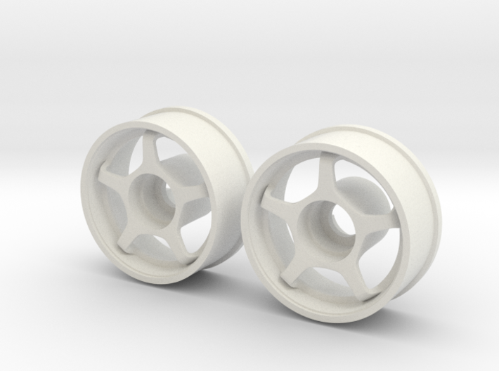 Mini Z RWD Wheel Front offset +1 3d printed