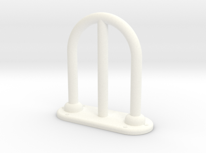 1.6 chinook antenne ajourée 3d printed