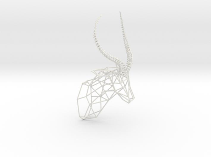 3D Printed Wired Life Antelope Trophy Head Medium 3d printed
