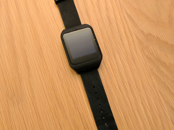 Sony Smartwatch 3 NATO 22mm adapter 3d printed
