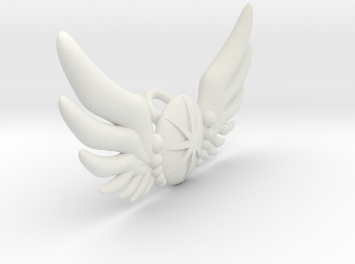 Star Wing Brooch for 60 cm doll 3d printed