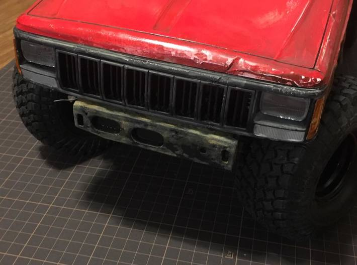 scx10ii without the bumper looks 3d printed