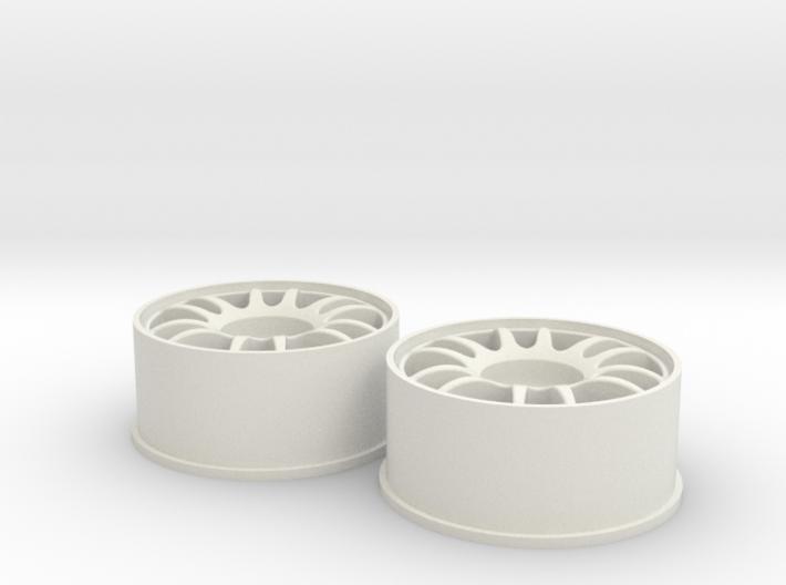 Split-6 Front 20mm Mini-Z Wheel 3d printed