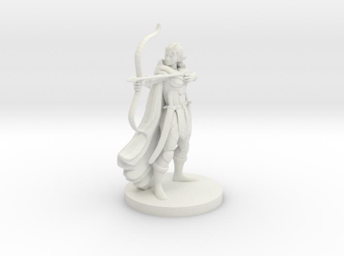 Elf Female Ranger 3d printed