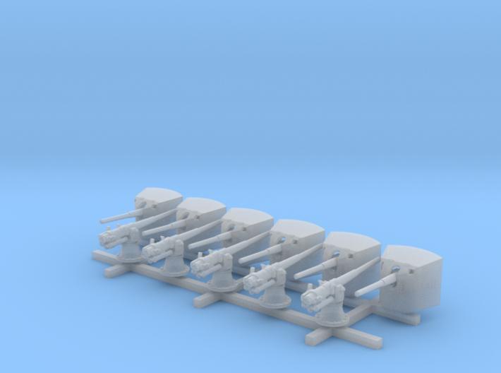1/250 SMS Emden 10.5cm/40 SK L/40 Guns 3d printed 1/250 SMS Emden 10.5cm/40 SK L/40 Guns