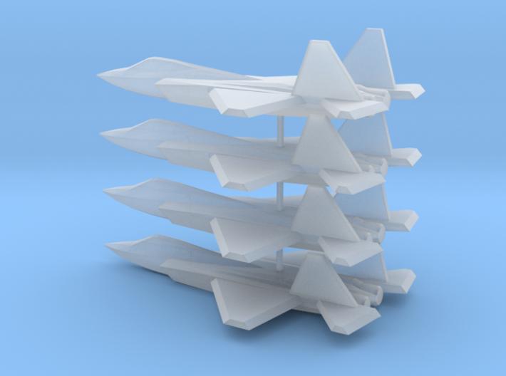 1/350 Shenyang J-31 (x4) 3d printed