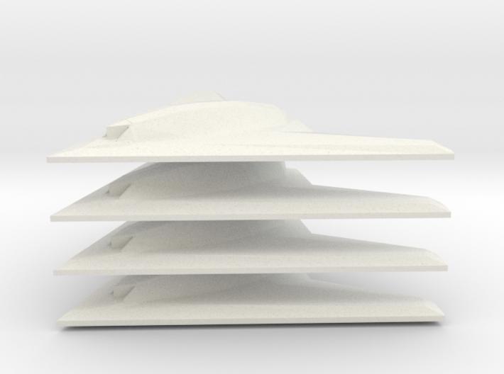 1/350 Phantom Ray (x4) 3d printed
